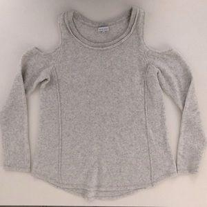 WAYNE COOPER for Myer open shoulder Grey jumper